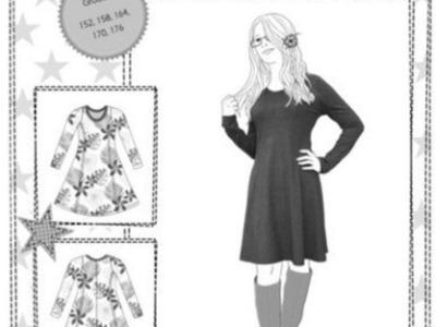 Schnitt Kiara Teens Farbenmix Kleid Tunika