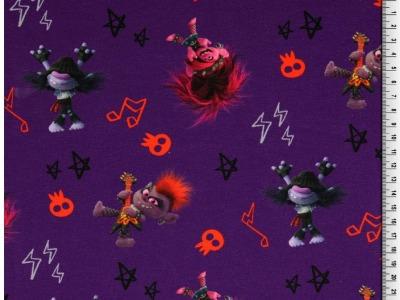 05m Jersey Trolls Rocktrolls Poppy lila