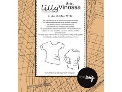 1Stk Vinossa Shirt Papier Schnittmuster by