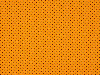 Meter Jersey Dots Kleine Punkte ockergelb