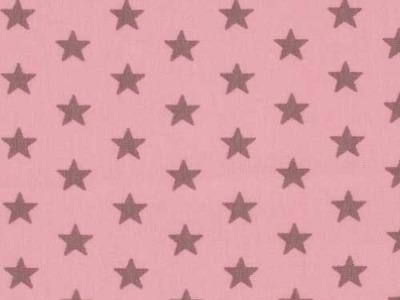 05m Jersey Kleine Sterne rosa taupe