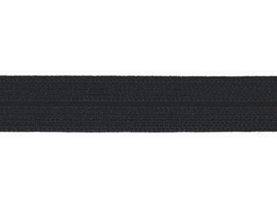 1m Jaquard Schrägband elastisch 20mm marine