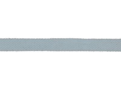 1m Baumwollkordel 12mm flach babyblau hellblau
