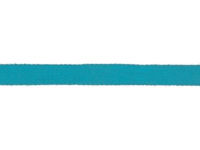 1m Baumwollkordel 12mm flach türkis weitere