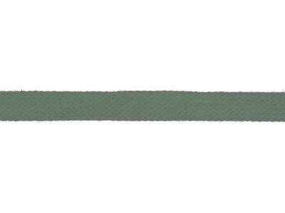 1m Baumwollkordel 12mm flach dusty green