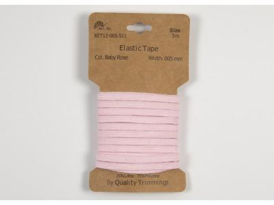 3m FLACHGUMMI Elastic Tape 5mm baby