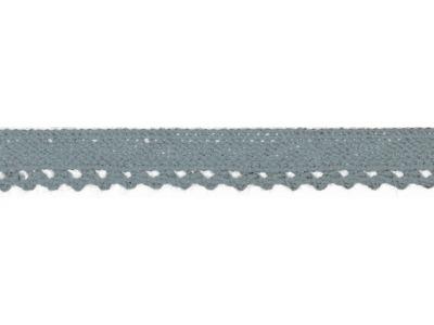 1m Baumwollspitze Häkelspitze 10mm breit Ahley