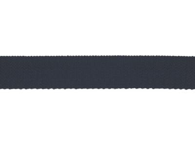 1m Gurtband mm uni navy dunkelblau