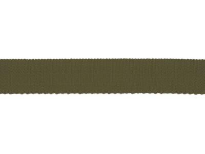 1m Gurtband mm uni army grün