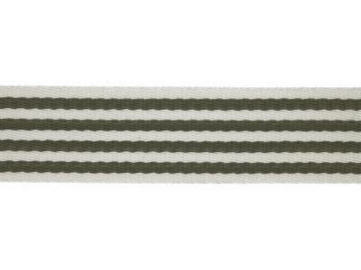 1m Gurtband mm Stripe army grün
