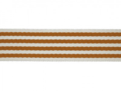 1m Gurtband mm Stripe inca gold