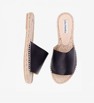 BLACK - Slipper Sandal / VK EUR 129 -