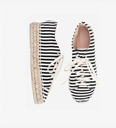 SKINNY STRIPES - Lace Up / RETAIL EUR 159 -