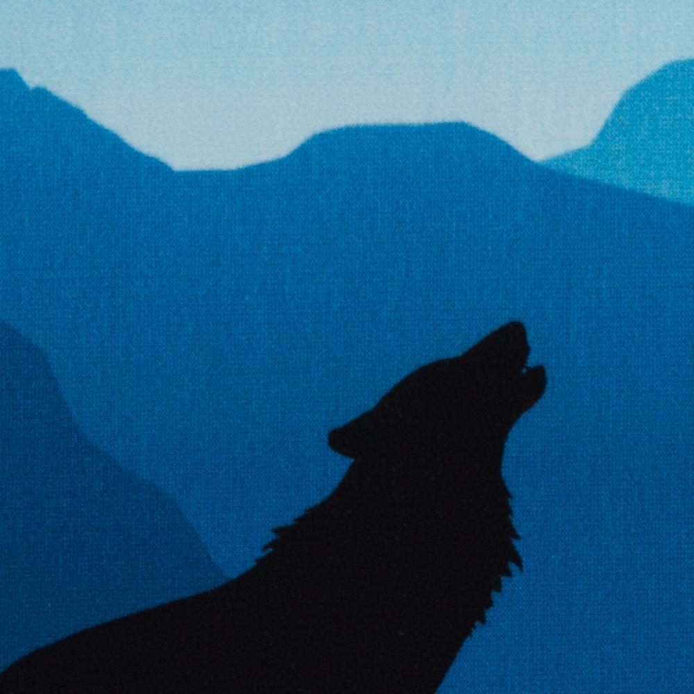 Wolf Moon Sweat türkis/blau - 1