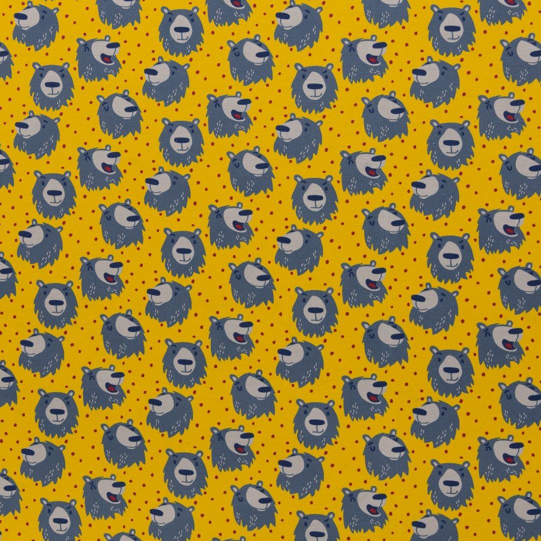 Jersey Bär gelb grau by Käselotti
