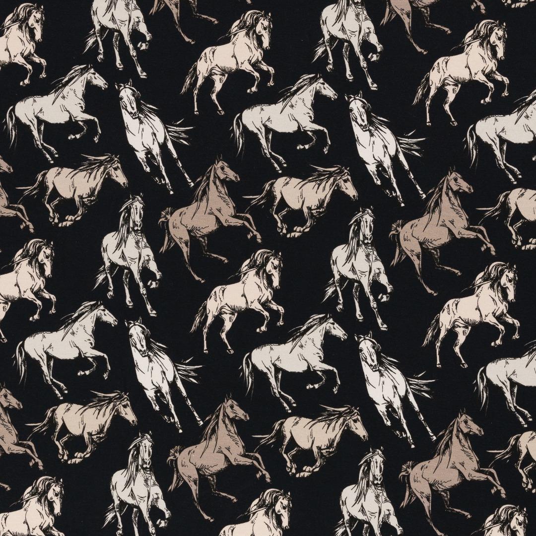Jersey Pferde blau Theo Swafing 2