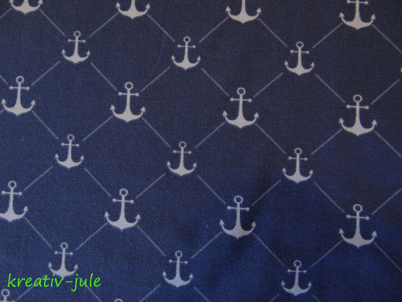 REST Jersey blau hellblau Anker Maritim