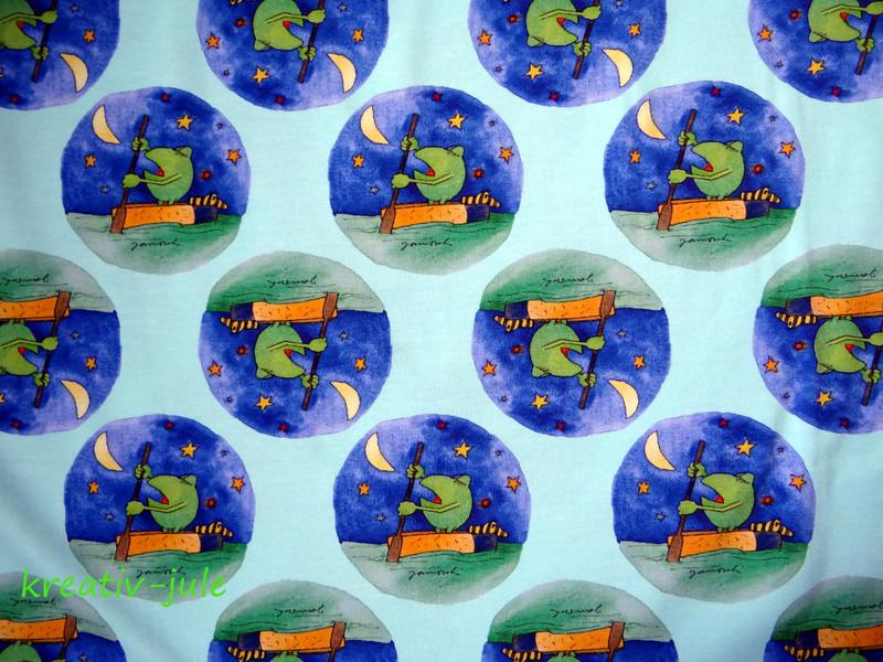 Jersey Janosch Frosch Tigerente Digitaldruck 3