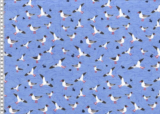 Jersey Seagull Wave by Lila Lotta - 1
