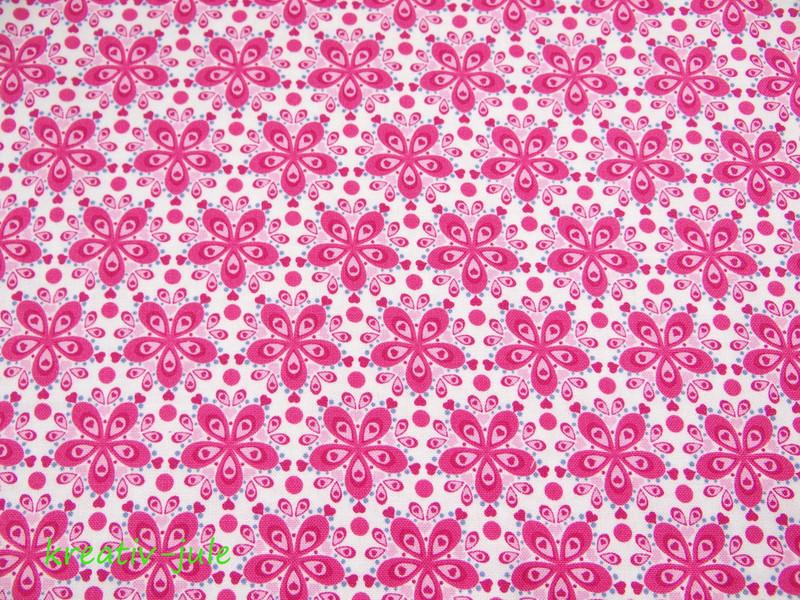 Baumwolle Julia Blume pink - 2
