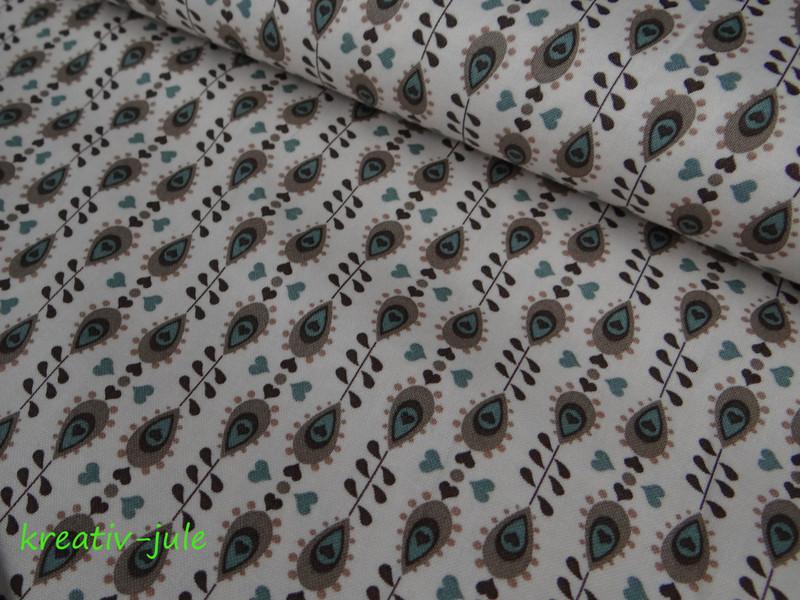 Stoffpaket Baumwolle Julia braun