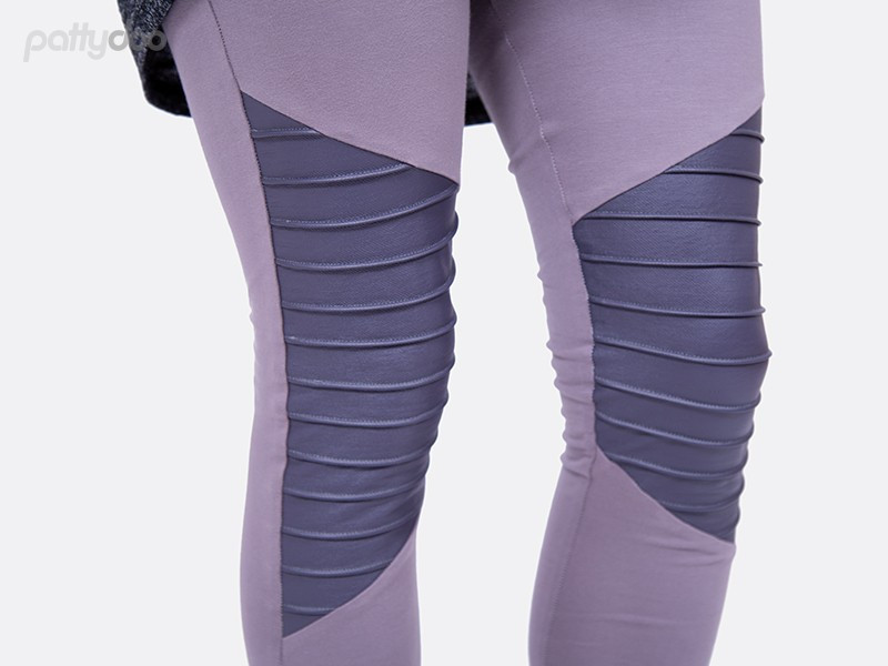 Schnittmuster Tara Biker Leggings Pattydoo 2