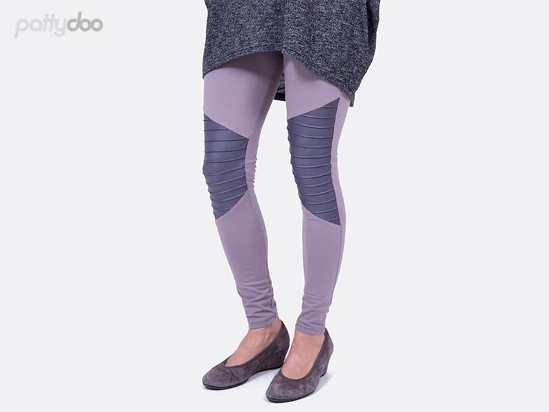 Schnittmuster Tara Biker Leggings Pattydoo 3