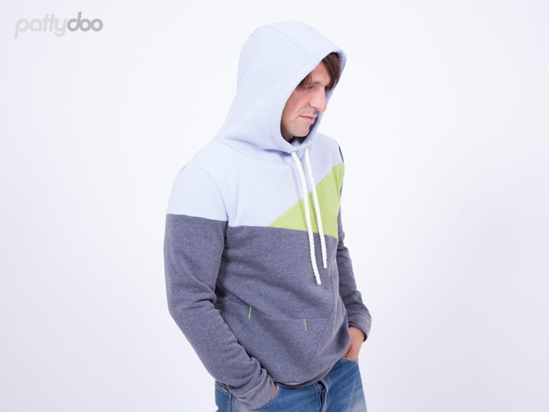 Schnittmuster Freestyle Hoodie Luke pattydoo | kreativ-jule