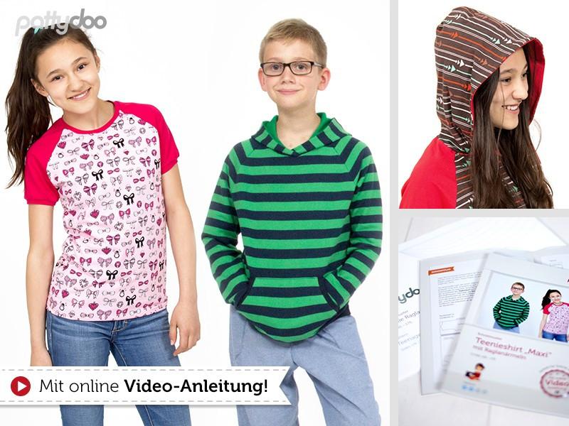 Schnittmuster Teenieshirt Maxi pattydoo