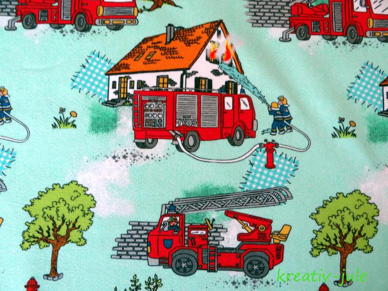 Jersey Feuerwehr mint Feuerwehrautos