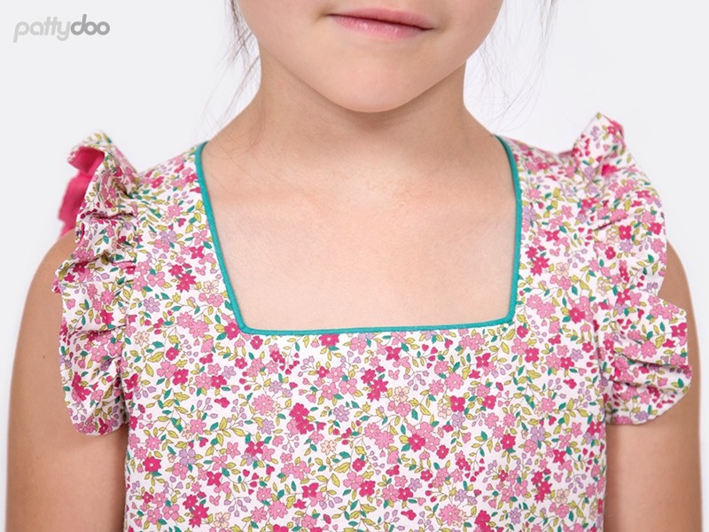 Schnittmuster Leni Kinderkleid by pattydoo 2