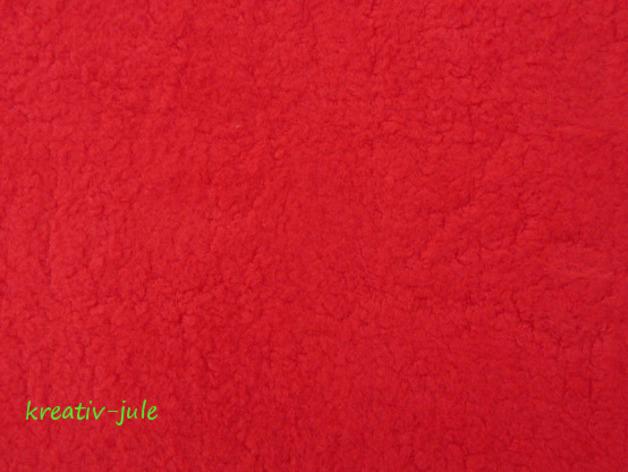 Baumwollfleece Fleece rot - 1
