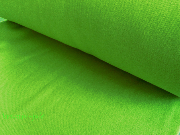 Bündchen kiwi grün apfelgrün Heike - 1