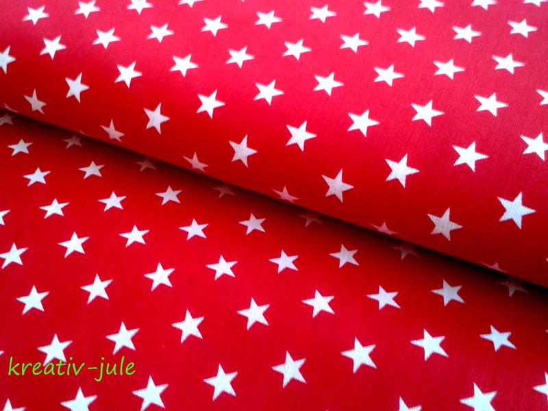 Sterne rot weiß