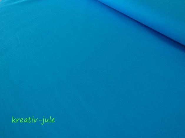 Sweat Sommersweat türkis blau