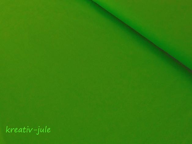 Jersey hellgrünapfelgrünkiwi Baumwolljersey