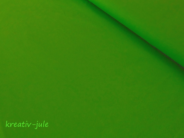 Jersey hellgrünapfelgrünkiwi Baumwolljersey - 1