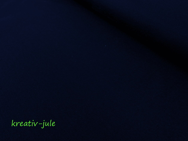 Jersey dunkelblau marine Baumwolljersey