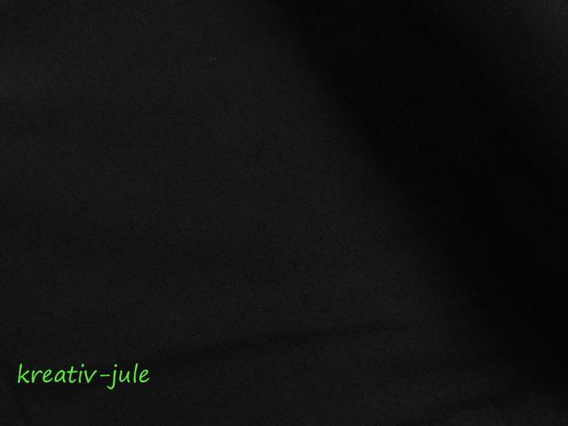 Jersey schwarz Baumwolljersey