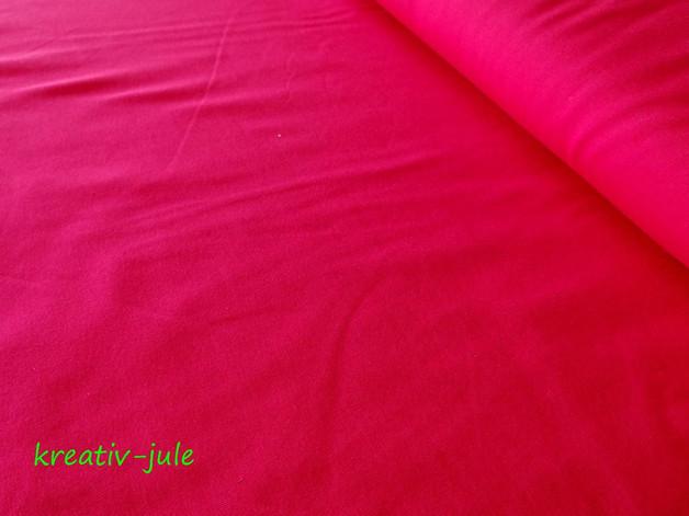Jersey pink Baumwolljersey - 1