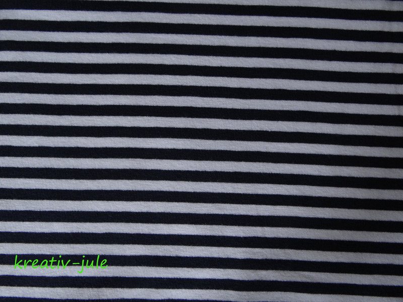 Streifenjersey blau marine weiß Ringeljersey 2