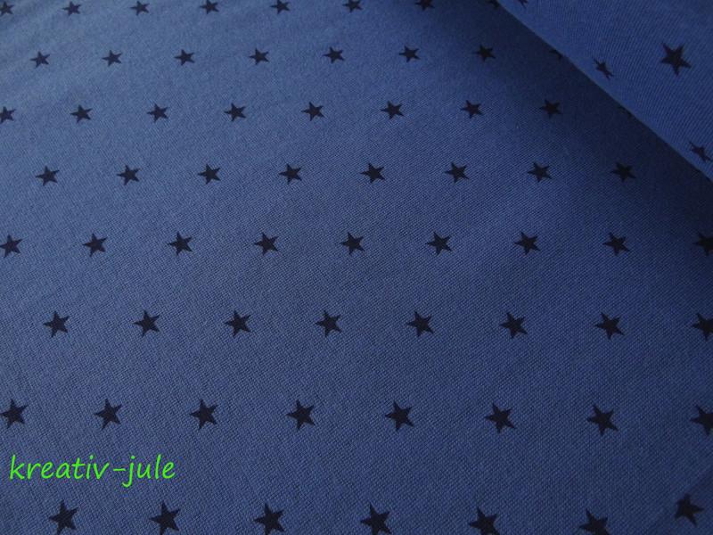 Bündchen Sterne blau marine - 1