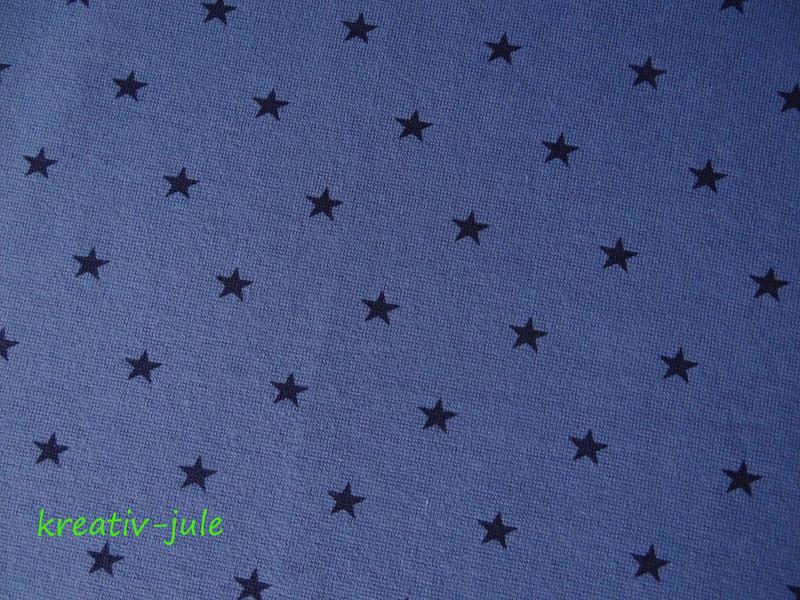 Bündchen Sterne blau marine 2