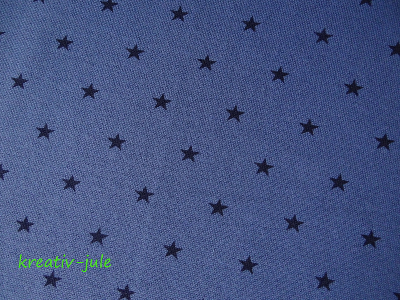 Bündchen Sterne blau marine - 2