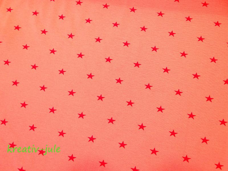 Bündchen Sterne rosa pink - 2