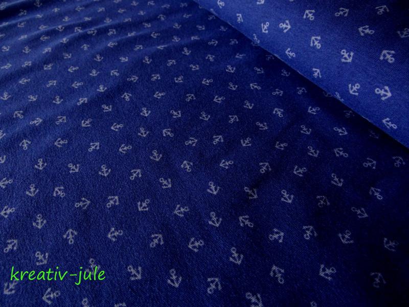 Jersey dunkelblau blau Anker Maritim mini - 1
