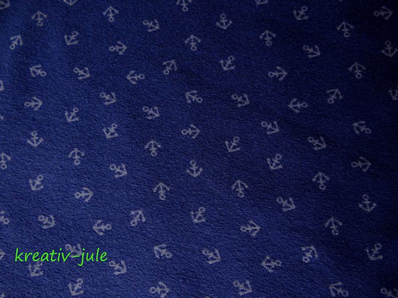 Jersey dunkelblau blau Anker Maritim mini - 2