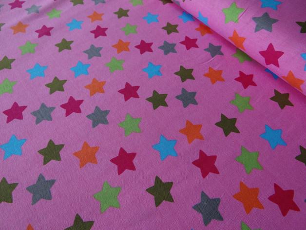 Jersey Sterne rosa pink grün blau Felize - 1