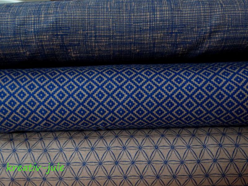 Jersey Pixel braun blau schlamm Pixelquartett - 3