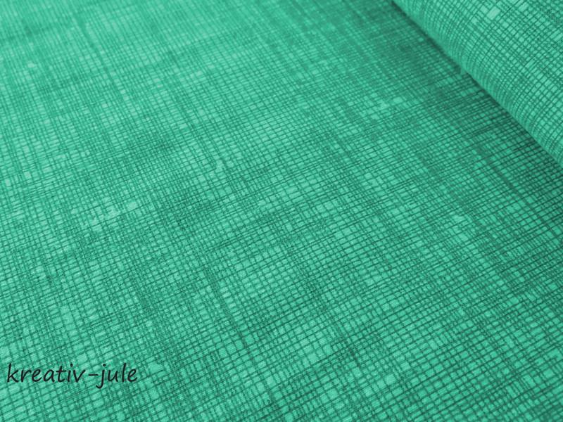 Jersey schraffiert mint türkisScribble Kritzel
